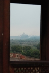 View of Taj Mahal from Red Fort