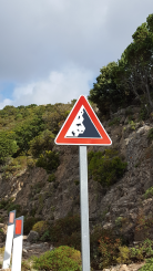 Beware of falling rocks (erm, cows?)