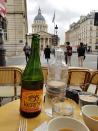 View from lunch: the Panthéon