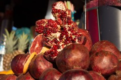 Fresh fruit abounds