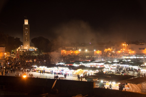 Jemaa el Fna at night
