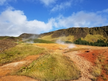 Iceland, where the earth boils...